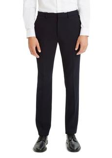 Theory Payton Textured Seersucker Tailored Fit Pants
