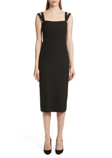 Theory Perform Tech Perfect Sheath Dress