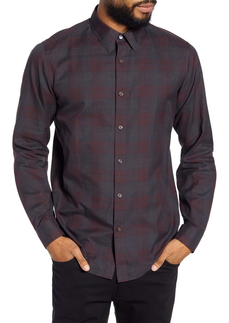 Theory Phoenix Slim Fit Button-Up Shirt