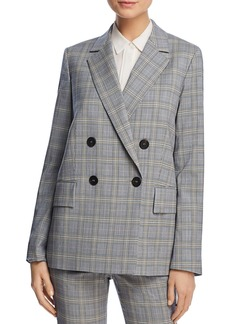 Theory Piazza Plaid Blazer - 100% Exclusive