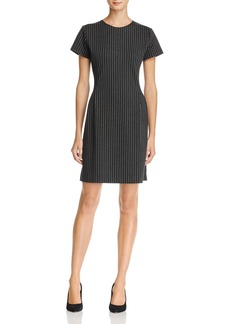 Theory Pinstripe Sheath Dress - 100% Exclusive