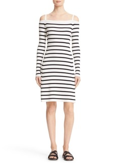 Theory Pirellia St Off the Shoulder Sweater Dress