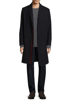 Theory Place Stripe Coat
