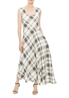 Theory Plaid Tango Dress