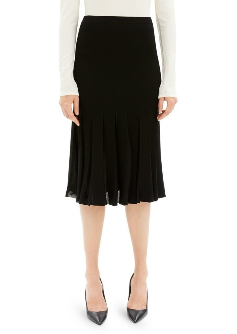 c43085fd1 Theory Theory Pleated Midi Skirt | Skirts