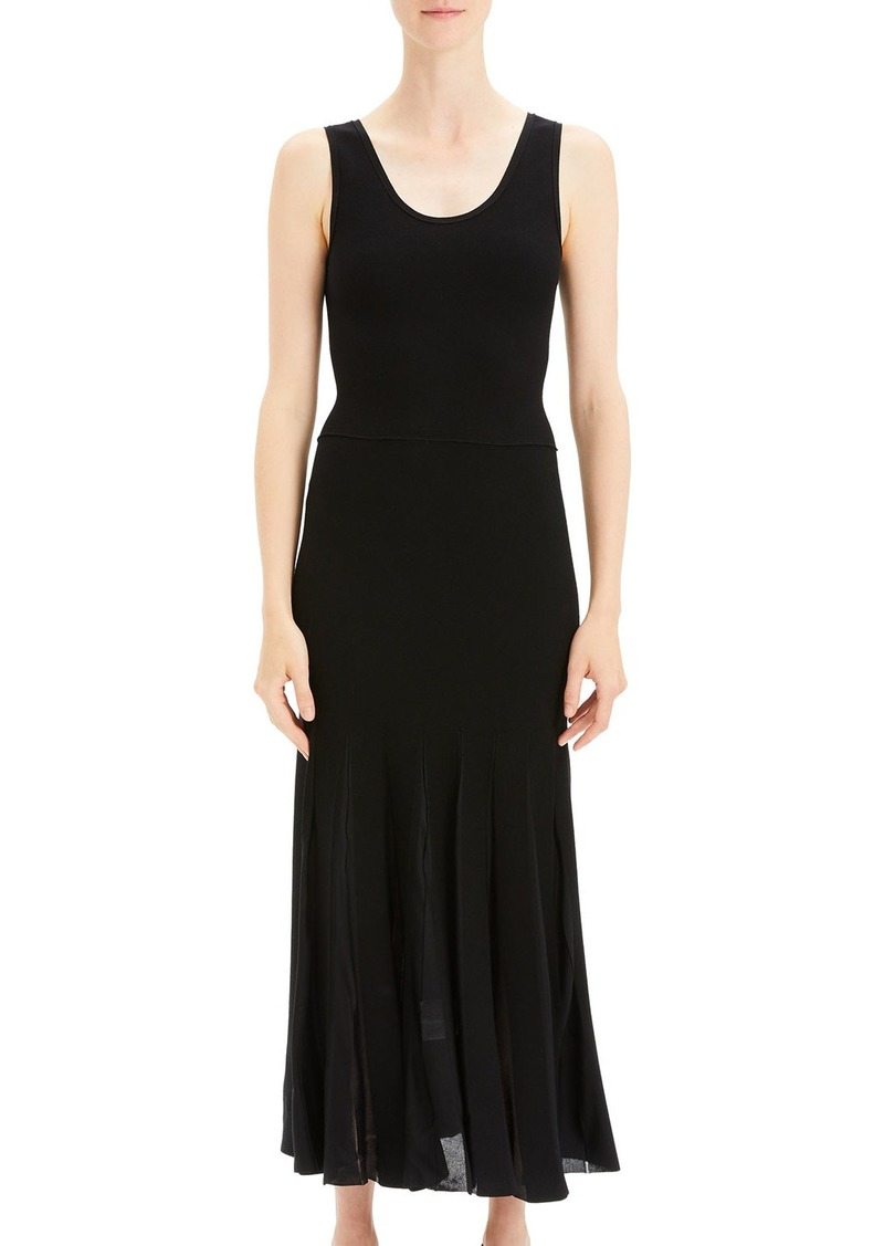14afcae885 Theory Theory Pleated Scoop-Neck Tank Dress | Skirts