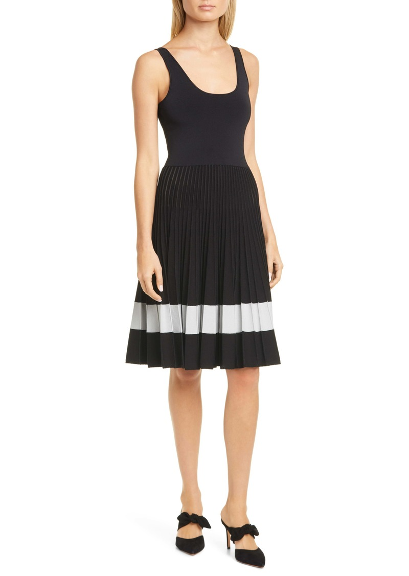 Theory Pleated Tank Dress