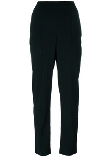 Theory pleated tapered trousers - Black