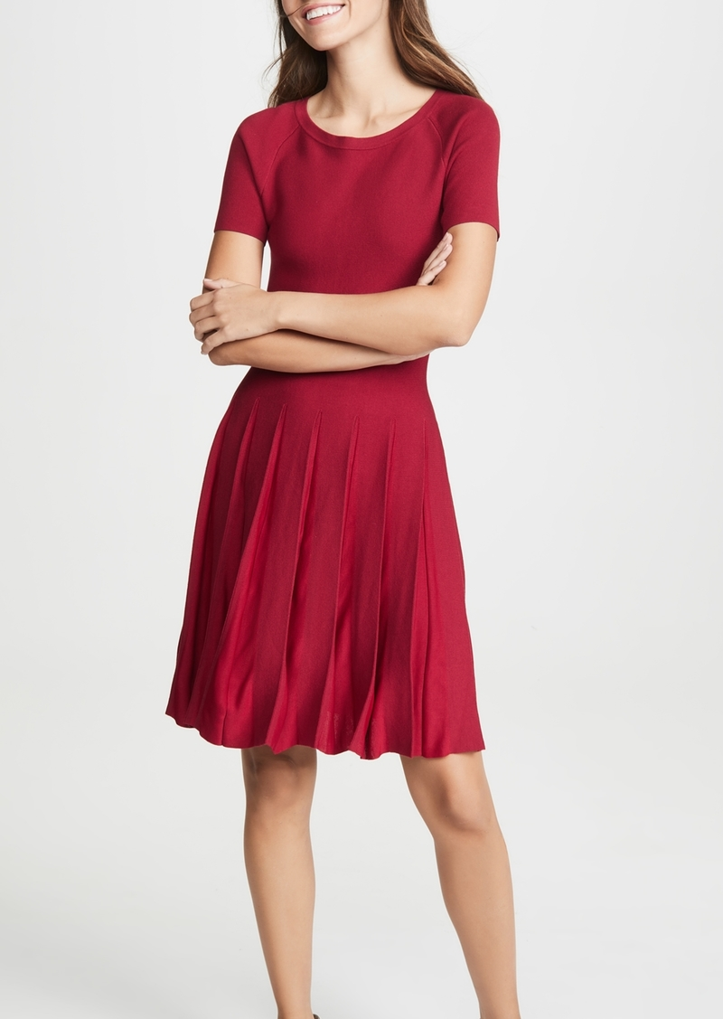 Theory Pleated Tee Dress
