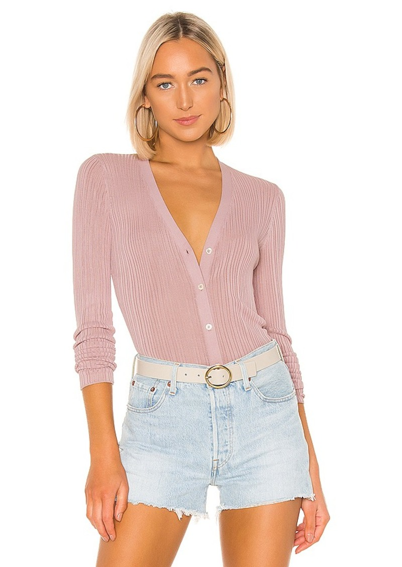 Theory Pointelle Cardigan