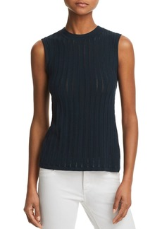 Theory Pointelle Knit Tank