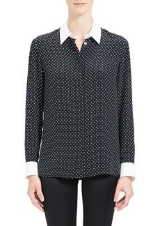 Theory Polka Dot Shirt