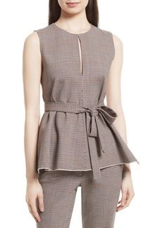 Theory Portland Peplum Top