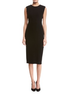 Theory Power Crepe Sheath Dress
