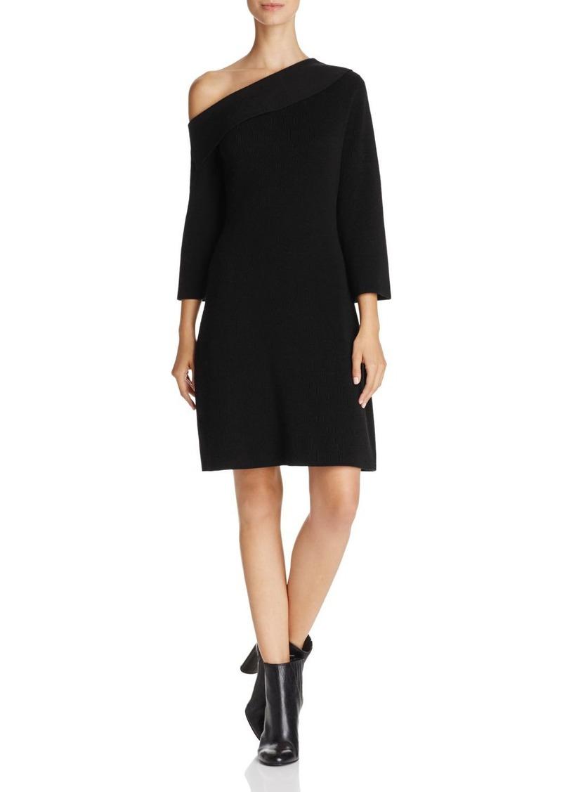 One Shoulder Shift Dress