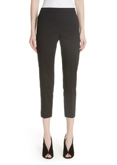 Theory Pull-On Linen Blend Pants