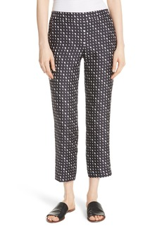 Theory Pull On Silk Trousers