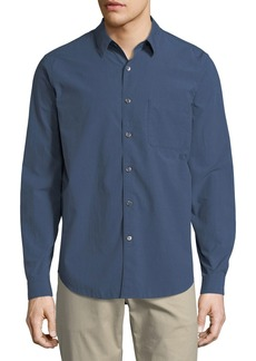 Theory Rammy Willowmere Cotton Oxford Shirt