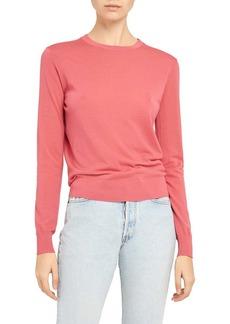 Theory Regal Wool Crewneck Sweater