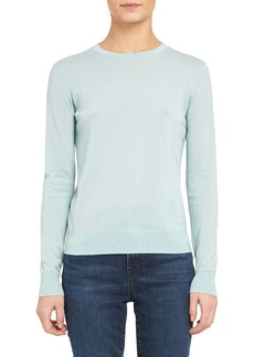 Theory Regal Wool Blend Crewneck Sweater