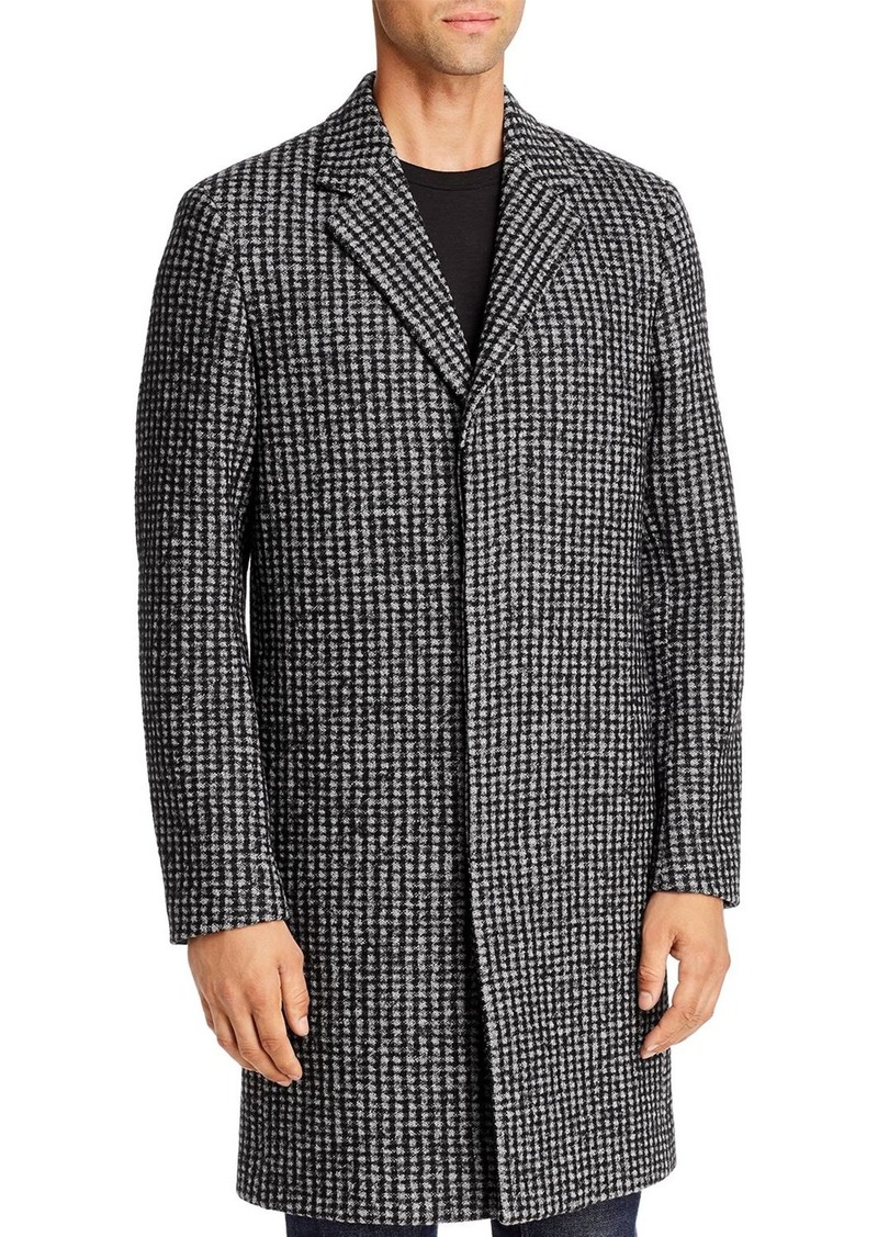 Theory Regular Fit Suffolk Boucle Jacquard Coat - 100% Exclusive