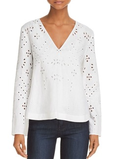 Theory Relaxed Lace Top