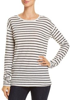 Theory Relaxed Stripe Top