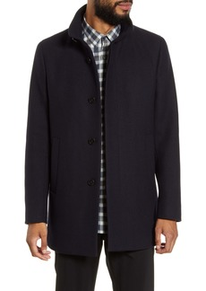 Theory Renew Regular Fit Wool Blend Coat