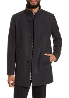 Theory Renew Regular Fit Wool Blend Coat