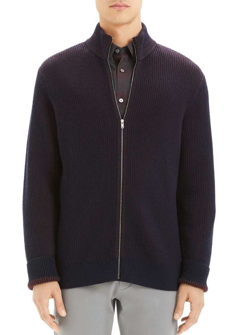 Theory Rennes Cashwool Regular Fit Jacket