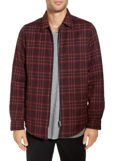 Theory Reversible Zip Front Shirt Jacket