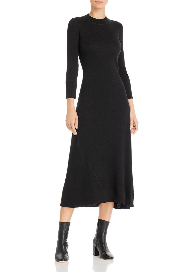 Theory Ribbed Bodycon Dress