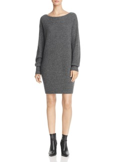 Theory Ribbed Cocoon Sweater Dress