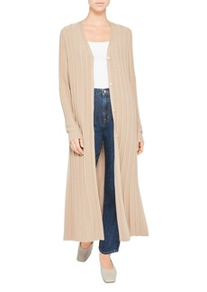 Theory Ribbed Duster Cardigan
