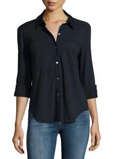 Theory Riduro C Nebulous Button-Down Shirt