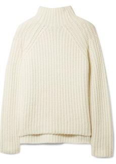 Theory Rifonia chunky-knit wool-blend turtleneck sweater