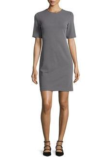 Theory Rijik B Claymont Short-Sleeve Sheath Dress