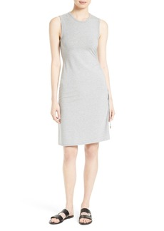 Theory Rimaeya DR Rubric Side Tie Dress