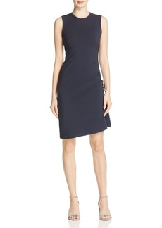 Theory Rimaeya Ruched-Side Dress
