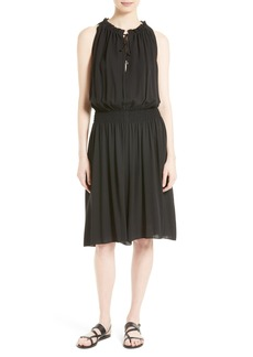 Theory Ritah Silk Georgette Dress