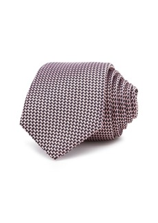 Theory Roadster Amble Textured Silk Skinny Tie