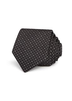 Theory Roadster Geometric Diamond Neat Skinny Tie