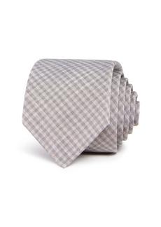 Theory Roadster Gingham Skinny Tie