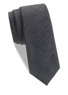 Theory Roadster Textured Silk Tie