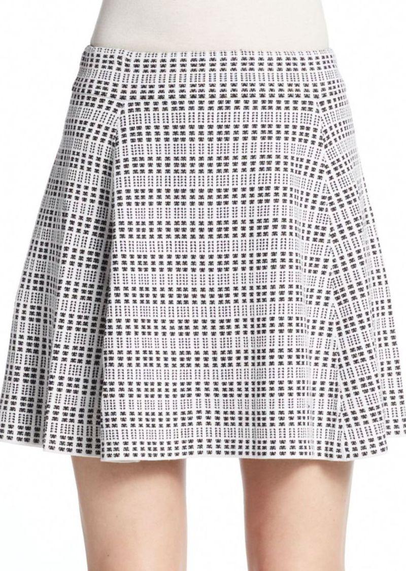 Theory Rortie Tweed Skirt