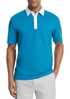 Theory Rugby Regular Fit Polo Shirt