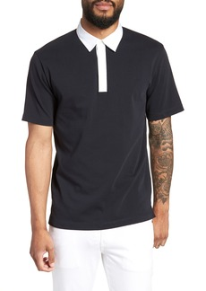 Theory Rugby Rope Regular Fit Polo
