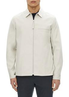 Theory Rye Zip-Front Shirt Jacket
