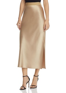 Theory Satin Column Skirt