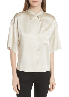 Theory Satin PJ Shirt